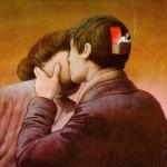 Иллюстрация | Павел Кучинский | Love when the brain takes a break