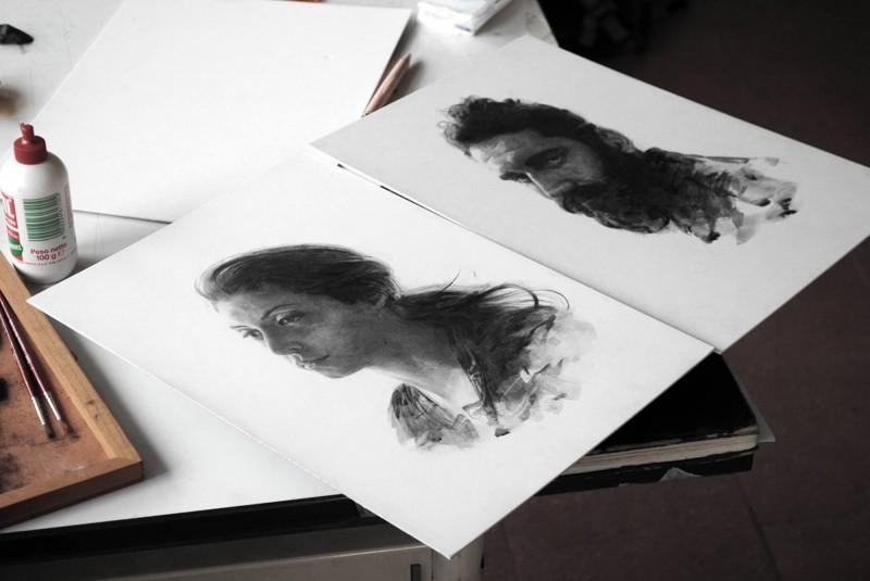 Томас Киан                                 Портреты из скетчбука