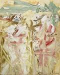 Живопись | Виллем де Кунинг | Two Figures, 1964