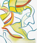 Живопись | Виллем де Кунинг | Untitled #2, From Quatre Lithographies, 1986