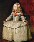 Живопись | Диего Веласкес | Портрет инфанты Маргариты в белом платье, 1656