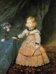 Живопись | Диего Веласкес | Портрет инфанты Маргариты в розовом платье, 1653-54