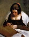 Живопись | Диего Веласкес | Швея, 1635-43