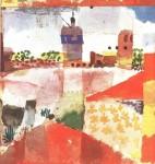 Живопись | Пауль Клее | Hammamet With Mosque, 1914
