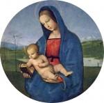 Живопись | Рафаэль Санти | Мадонна Конестабиле, 1502-04