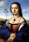 Живопись | Рафаэль Санти | Портрет Маддалены Строцци, 1506