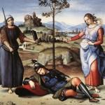 Живопись | Рафаэль Санти | Сон рыцаря, 1504