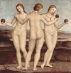 Живопись | Рафаэль Санти | Три грации, 1504