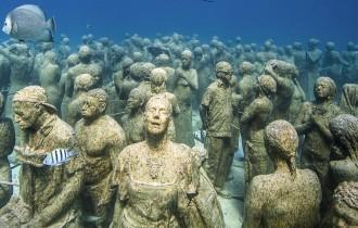 Подводный парк скульптур Джейсона Тейлора