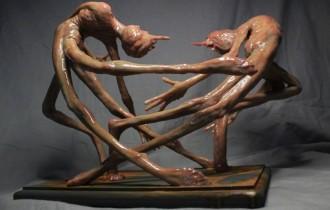 Ужасающие скульптуры Мэтью Левина