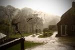 Скульптура | Робин Уайт | One o'clock. Wish in the rain