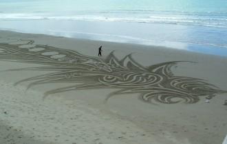 Питер Доннелли                 песочное искусство
