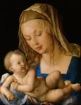 Живопись | Альбрехт Дюрер | Дева Мария с Младенцем и полусъеденной грушей, 1512