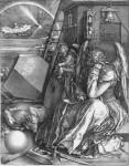 Живопись | Альбрехт Дюрер | Меланхолия, 1514