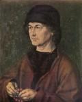Живопись | Альбрехт Дюрер | Портрет Альбрехта Дюрера Старшего, 1490