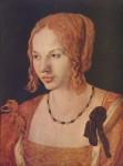 Живопись | Альбрехт Дюрер | Портрет Венецианки, 1505