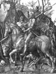 Живопись | Альбрехт Дюрер | Рыцарь, смерть и дьявол, 1513