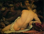 Живопись | Аннибале Карраччи | Венера, Сатир и Купидоны, 1588-90