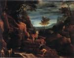 Живопись | Аннибале Карраччи | Видение св. Евстафия, 1585-86