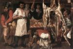 Живопись | Аннибале Карраччи | Лавка мясника, 1585