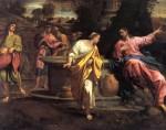 Живопись | Аннибале Карраччи | Христос и Самаритянка, 1593-94