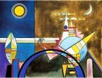 Живопись | Василий Кандинский | Картина XVI. Большие Ворота Киева, 1928