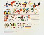 Живопись | Василий Кандинский | Последовательность, 1935