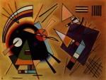 Живопись | Василий Кандинский | Черный И Фиолетовый, 1923