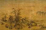 Живопись | Го Си | Каменистая равнина и далекий горизонт
