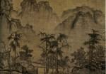 Живопись | Го Си | Осень в долине реки. Деталь