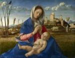 Живопись | Джованни Беллини | Мадонна на лугу, около 1505