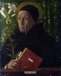 Живопись   Джованни Беллини   Портрет Фра Теодоро да Урбино, 1515