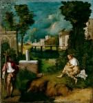 Живопись | Джорджоне | Гроза , около 1508