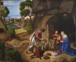 Живопись | Джорджоне | Поклонение пастухов, до 1505