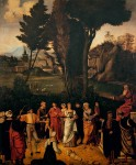 Живопись | Джорджоне | Суд Соломона, 1500-01