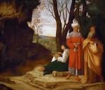Живопись | Джорджоне | Три философа, около 1504