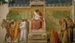 Живопись | Джотто | Базилика Санта Кроче | Испытание огнём перед султаном