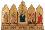 Живопись | Джотто | Болонский Полиптих, 1330-35