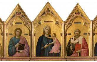 Объем и пространство в картинах Джотто ди Бондоне