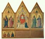 Живопись | Джотто | Триптих Стефанески, Оборотная сторона, около 1330 г.