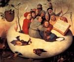 Живопись   Иероним Босх   Концерт В Яйце, 1475-80