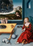 Живопись | Лукас Кранах Старший | Меланхолия, 1532