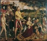 Живопись | Лукас Кранах Старший | Мученичество Св. Катерины, 1506