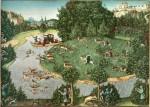 Живопись | Лукас Кранах Старший | Охота На Оленя Курфюрста Фридриха III Мудрого, 1529