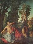 Живопись | Лукас Кранах Старший | Покаяние Св. Иеронима, 1502