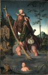 Живопись | Лукас Кранах Старший | Св. Христофор, 1516