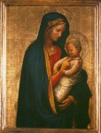 Живопись | Мазаччо | Мадонна с младенцем, около 1426