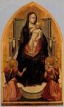 Живопись | Мазаччо | Триптих св. Ювеналия. Мадонна с младенцем