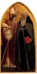 Живопись | Мазаччо | Триптих св. Ювеналия. Правая створка. Св. Амвросий и св. Ювеналий