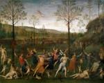 Живопись | Перуджино | Борьба Любви И Целомудрия, 1503-05